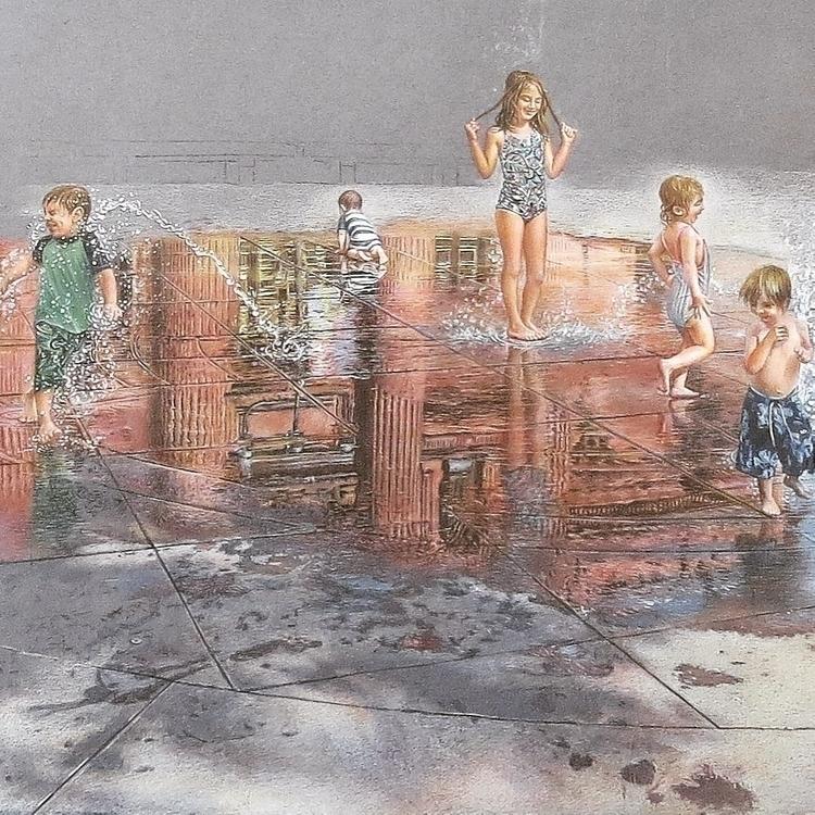 Fragment. Plaza Fountain Sister - anzhelikadoliba | ello