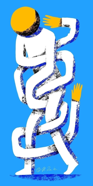 Tangled - procreateapp, illustration - nik__brovkin | ello