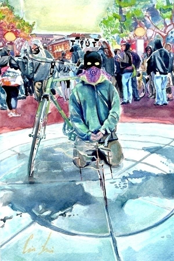 1. Fight Jim crow watercolor co - carinalomeli | ello