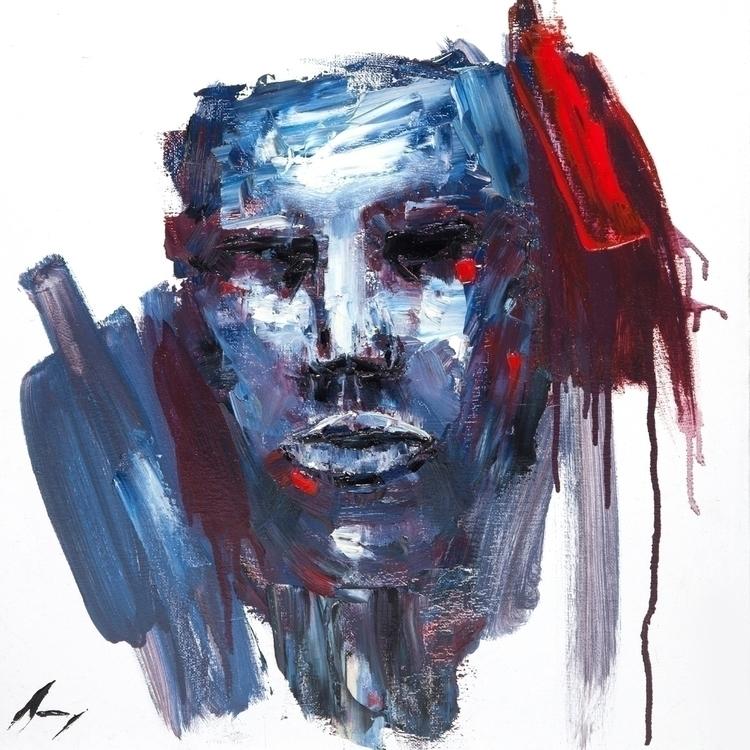 Anima - Oil canvas 18 - art, oilpainting - brandonsavoy | ello