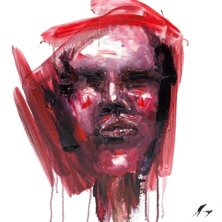 Dialectic - Oil canvas 18 - art - brandonsavoy | ello