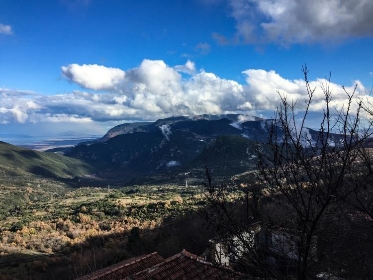 rain - ftiotida, greece, vilage - iwannhsap | ello