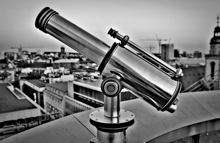 Telescope - blackandwhitephotography - borisholtz | ello