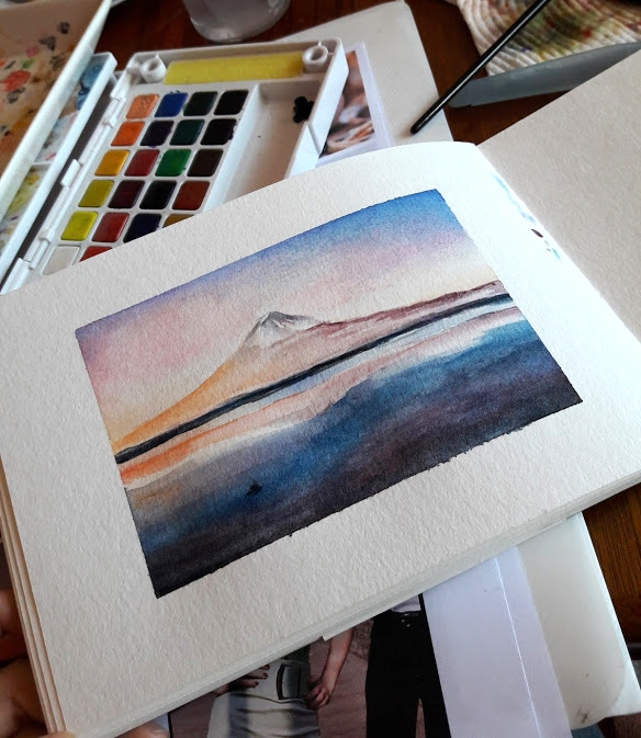 Watercolour Study - study, watercolours - j0eyg1rl | ello