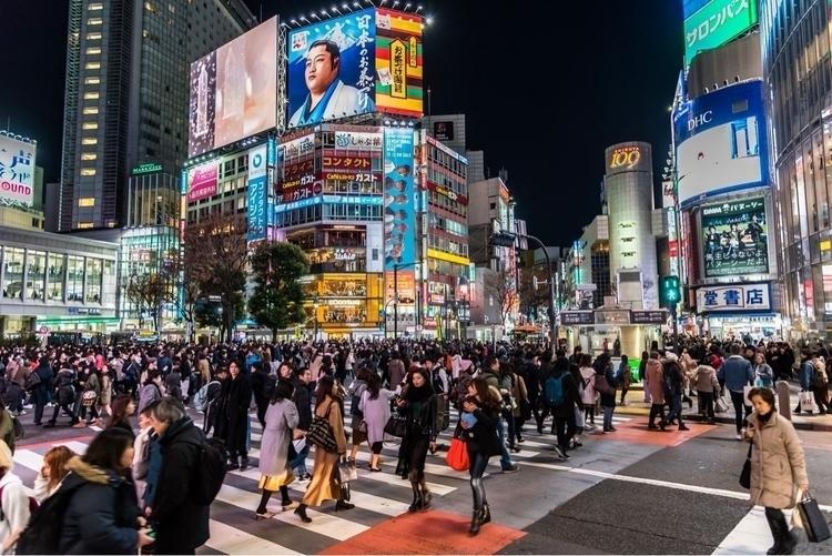 Shibuya crossings - busiest int - javanng | ello