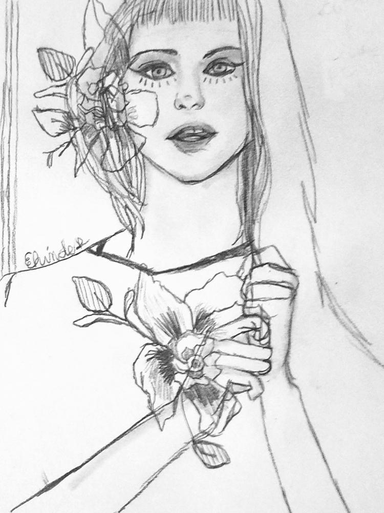 kawaii - cute, illustration, flowers - andaelentari | ello