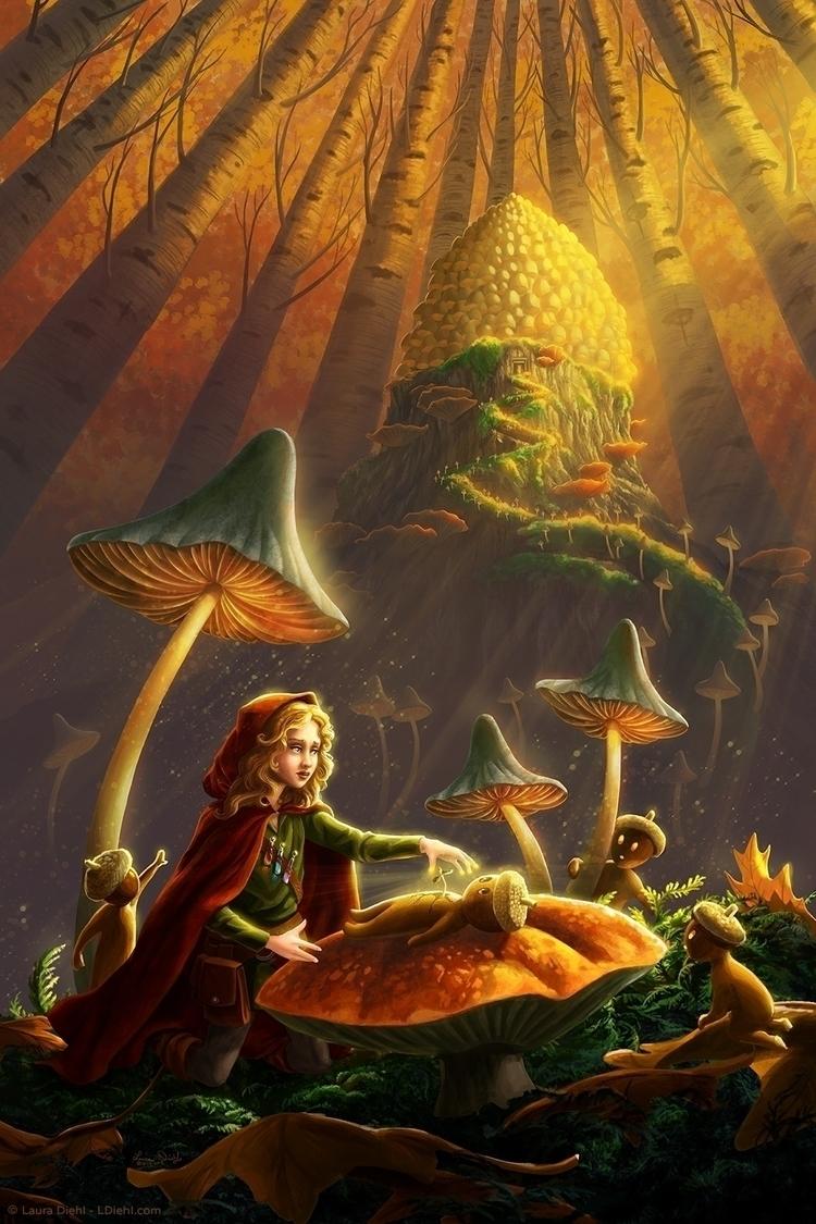Acorns young Healer arrives lat - lauradiehl | ello