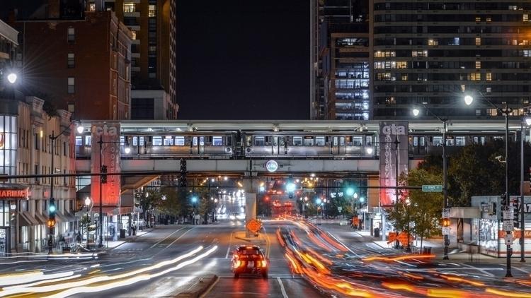 Roosevelt Station.  - chicago, photography - craftonandrew | ello