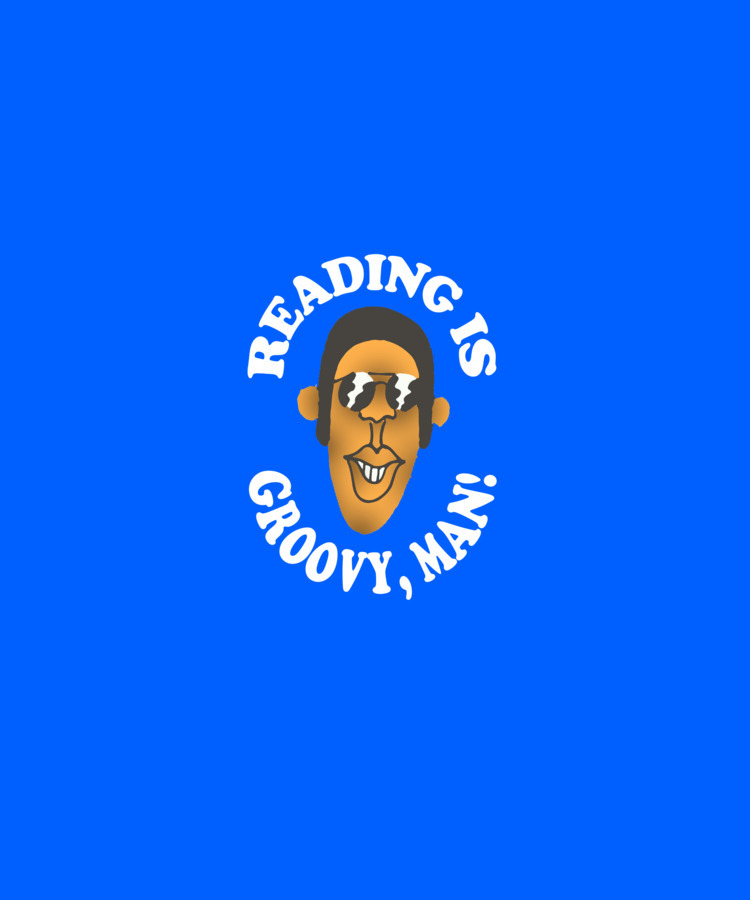 reading groovy, man - edgarfernandezart - fuzzyvisionrecords | ello