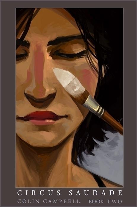 Circus Saudade - Book cover - Webcomic - ccampbellart | ello