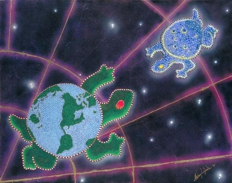 Mother Earth Moon -- (1990) Acr - micksylvestre   ello