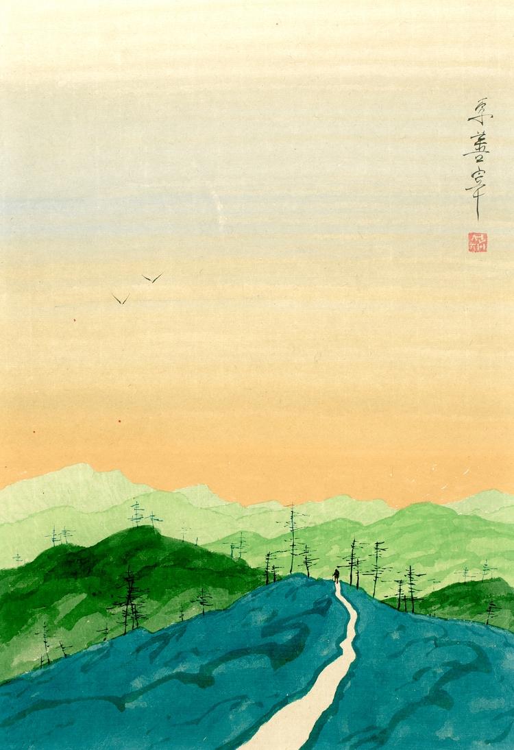 Sunjae Lee watercolor painter o - eugenesunjae | ello