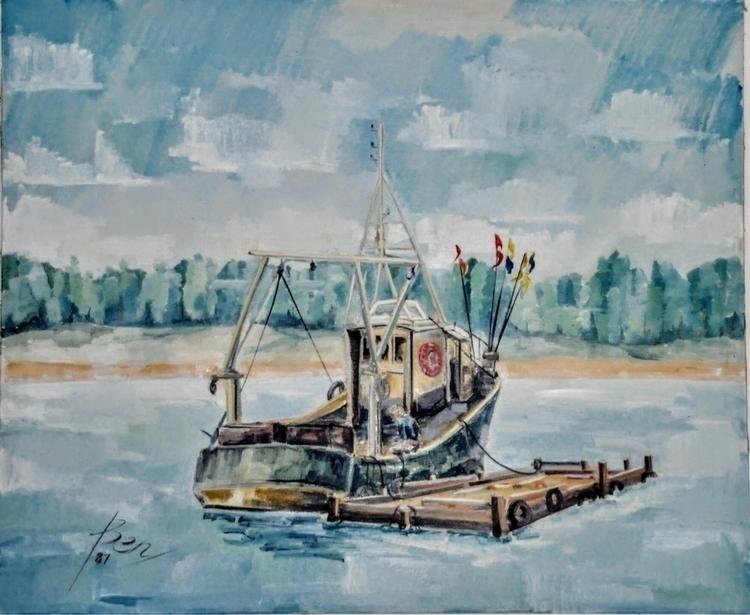 Bretoens Kreeft visser 1981 Ben - ben-peeters | ello