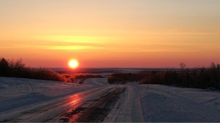 polar night 16 Jan Utsjoki. 17t - minnamoira | ello