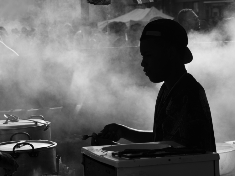 Cooking - photography, streetphotography - berryphillips | ello