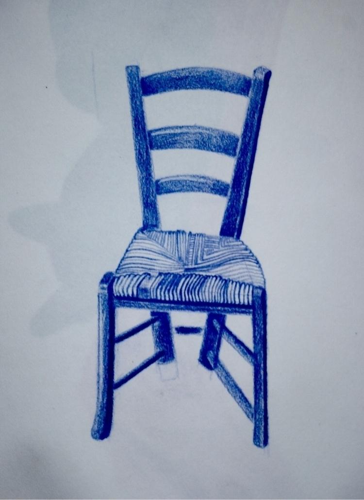 Chair drawn Marseille France - boydboyd | ello