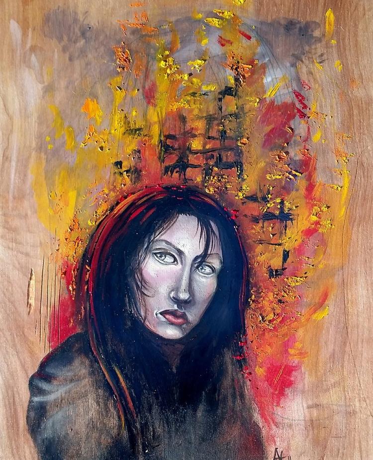 Arson work included Nasty Women - acozza | ello