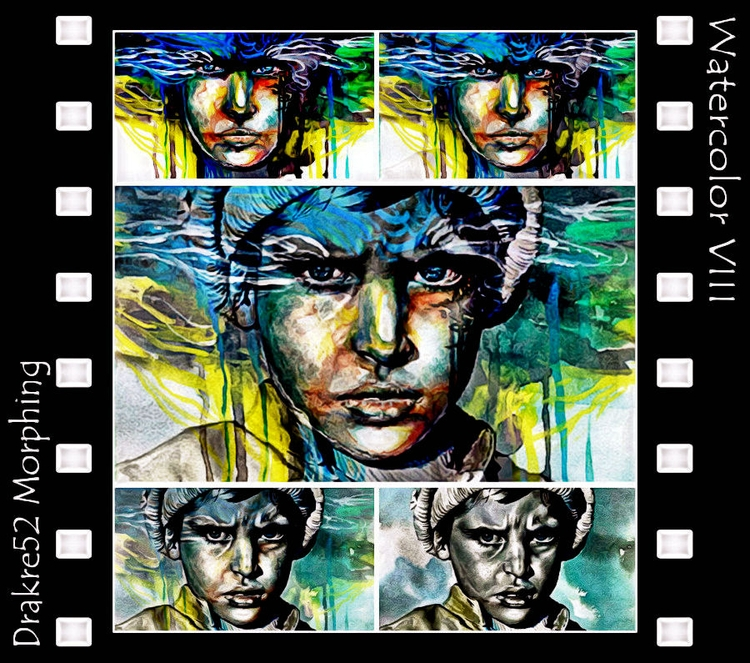 Watercolor VIII Morphing. Watch - drakre52 | ello