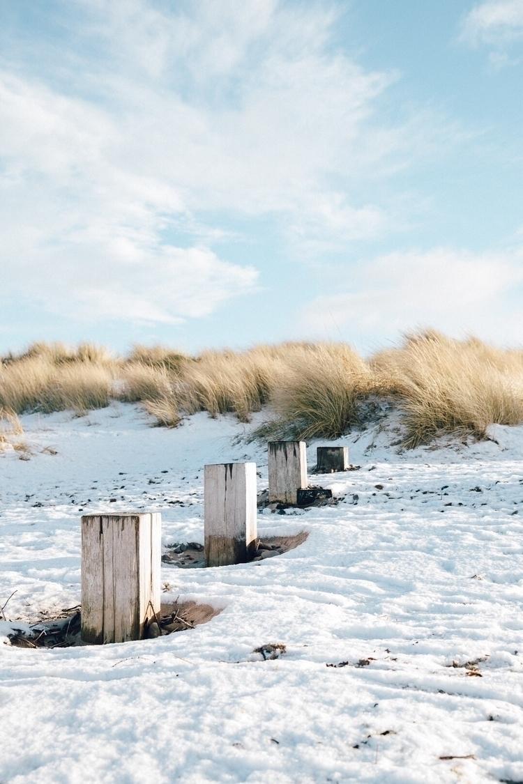 Winter feels beach - findhorn, Scotland - jamiefraser | ello