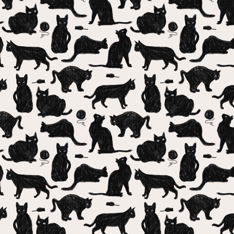Motif catz - motif, illustration - studio_liu | ello