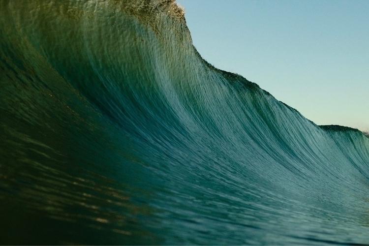 Texture curve - fujifilm, ocean - joshmoods | ello
