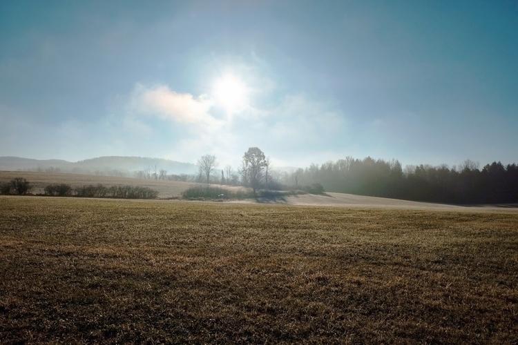 fog lifts - fuji, fujifilm, landscape - jennmckernon | ello