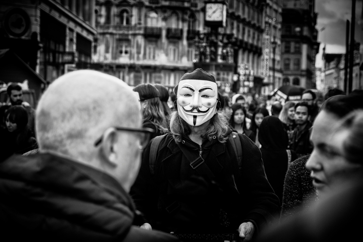 Anonymnous crowd - london,, streetphotography - dazsmith | ello