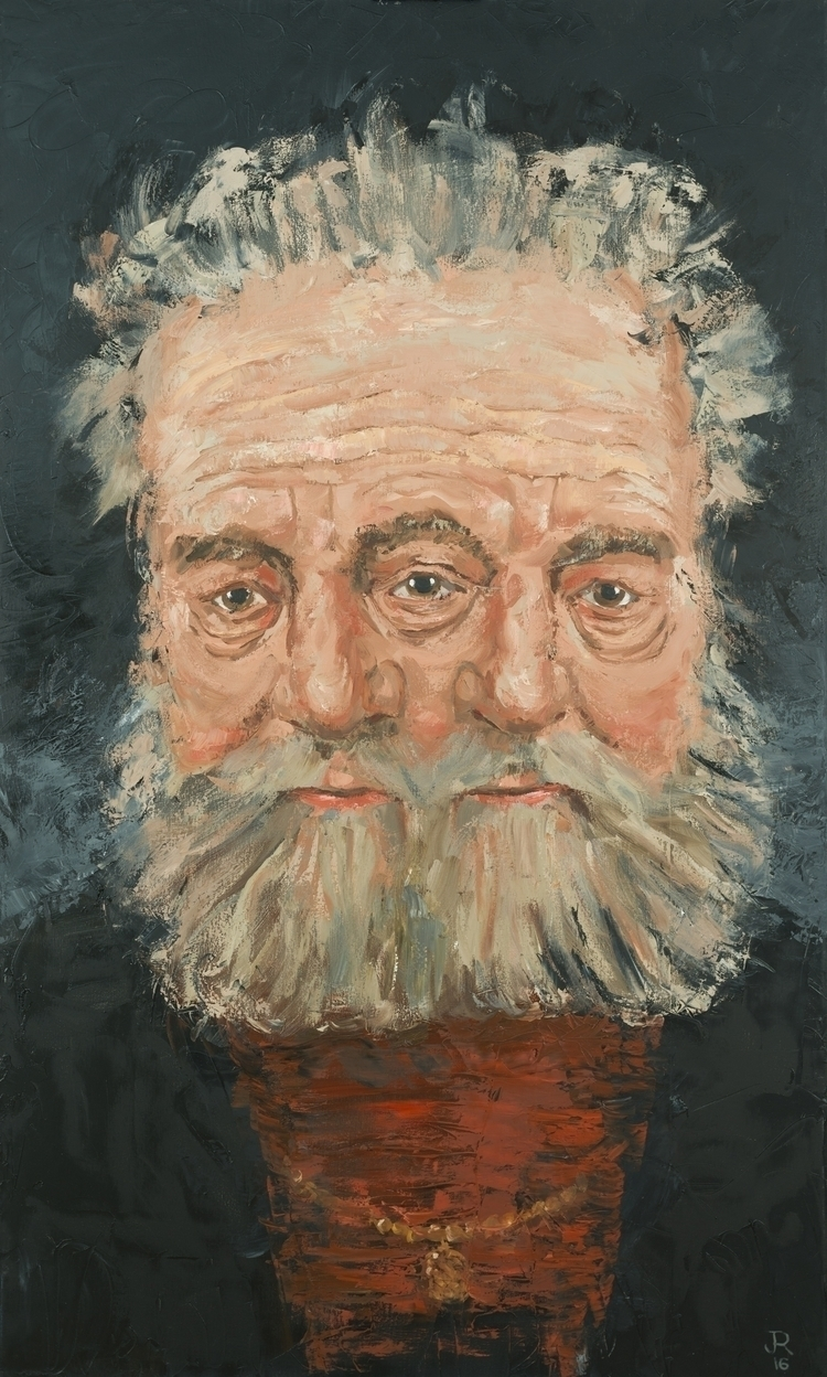 Man Rembrandt). 60 36. Oil Canv - jackrosenberg | ello