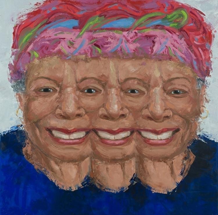 Maya. 36 36. Oil Canvas. 2017 - painting - jackrosenberg | ello