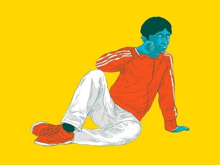 enjoying weekend - enjoy, illustration - guratnadi | ello
