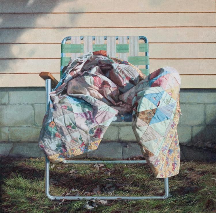 Weathered. oil canvas. 24 - cindyrizza | ello