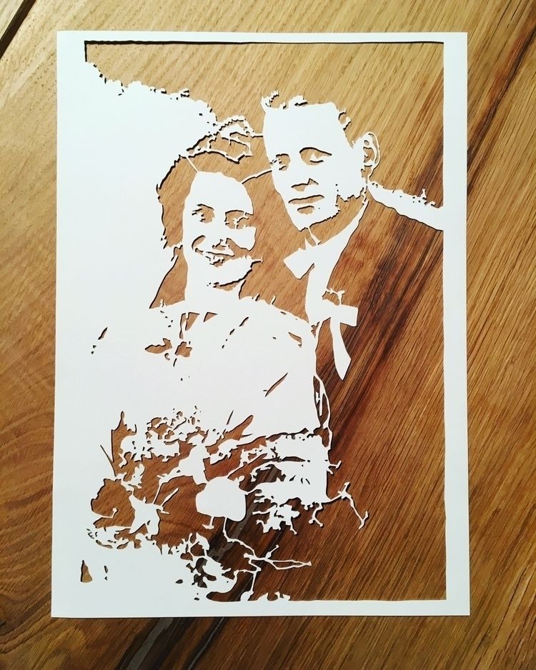 Finished! grandparents printed  - basteljenta | ello