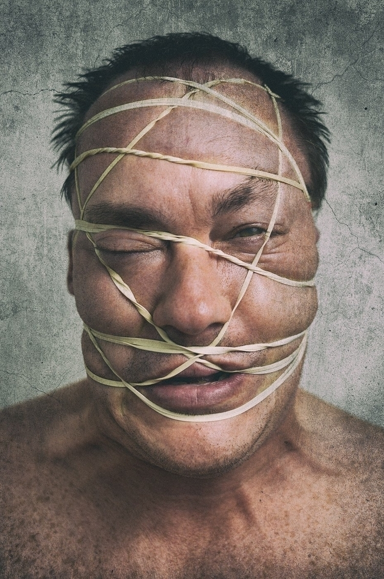 """Mental Anguish"" portrait awhil - rasterman74 | ello"