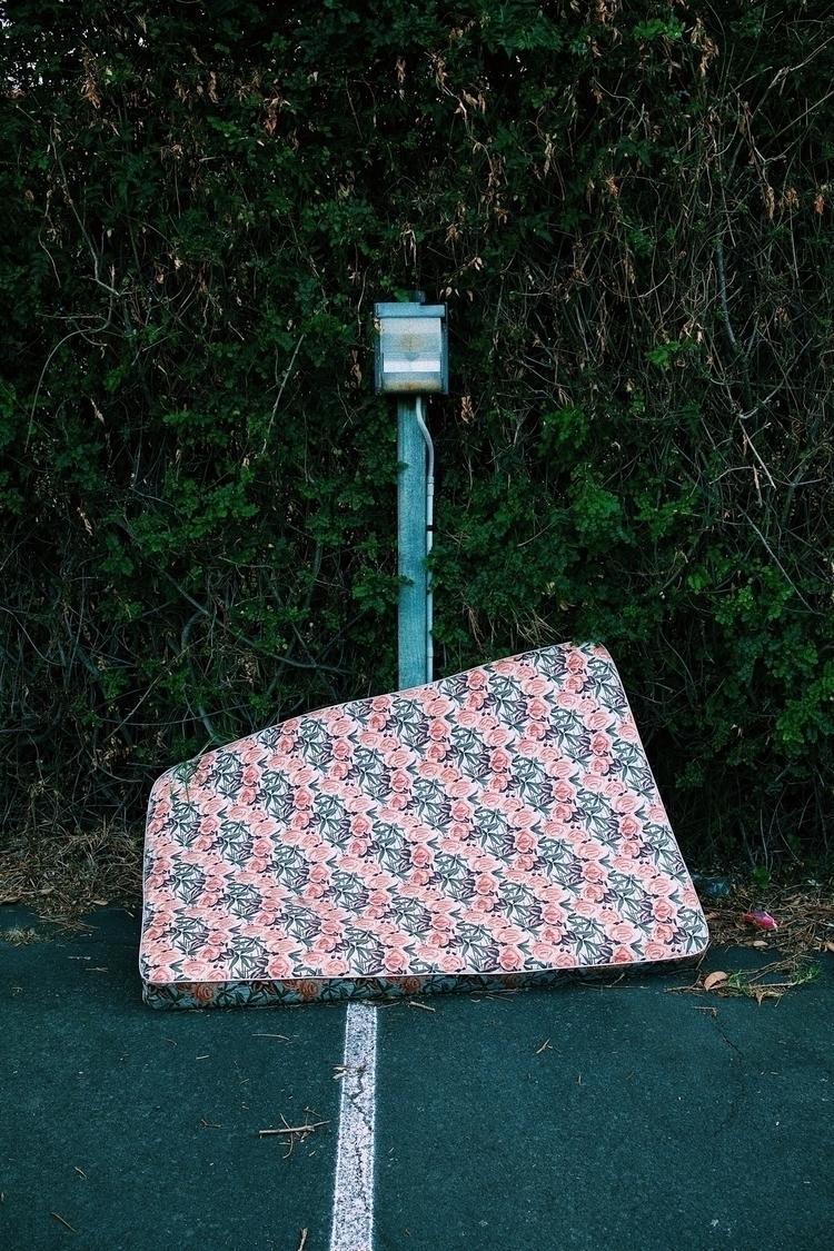 Abandoned mattress residential  - james_sier | ello