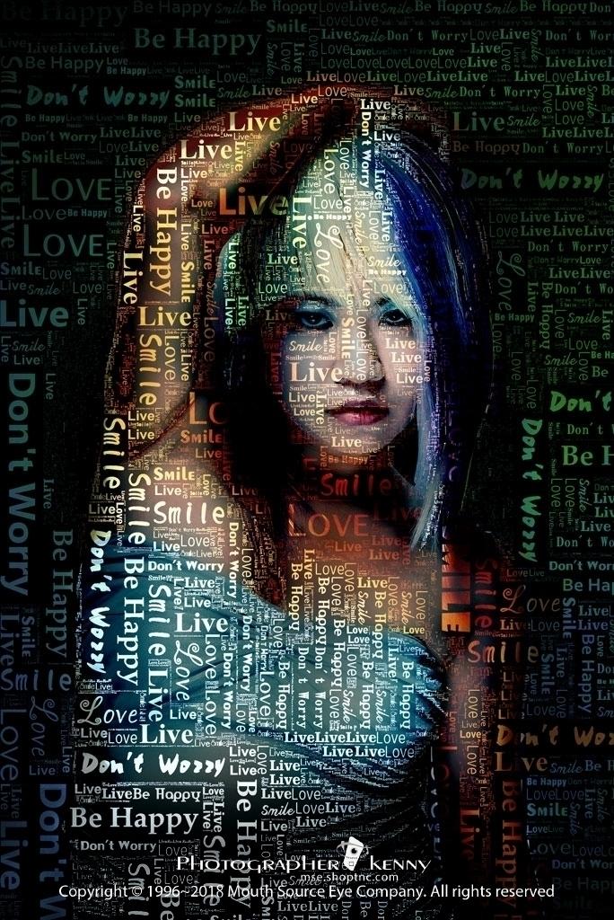 Portrait photography + digital  - kaokenny525 | ello