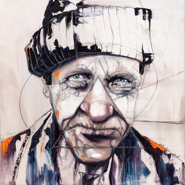Sebastian Wandl, Fisher man, oi - wandl-art | ello