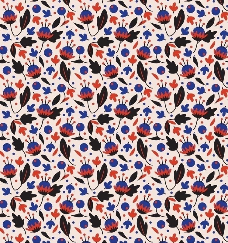 Motif Floral - motif, illustrator - studio_liu | ello