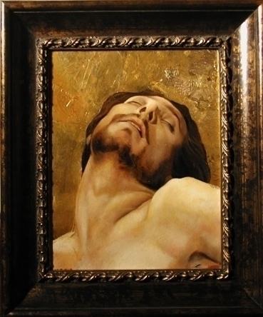 Pieta Study oil painting linen - jamesxavierbarbour | ello