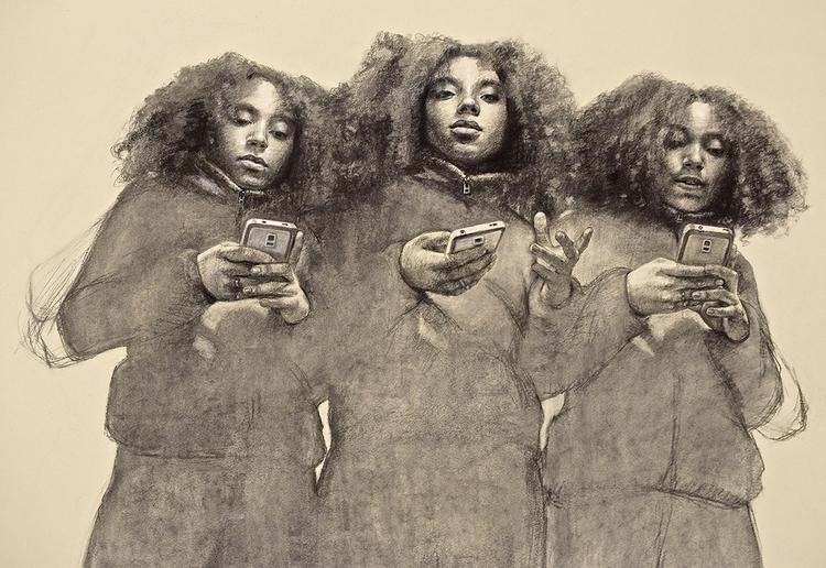 Mishnah - draw, cellphones - mariajimenez | ello