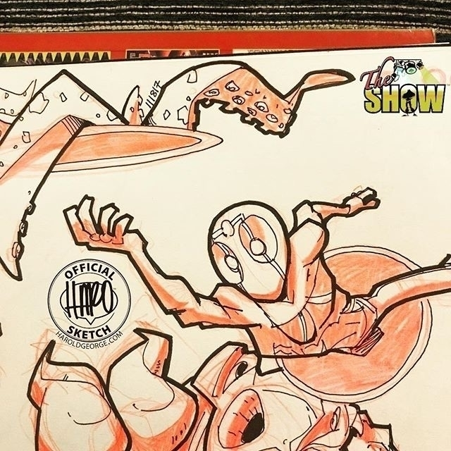 posted Instagram: Sketch :spade - haroartist   ello