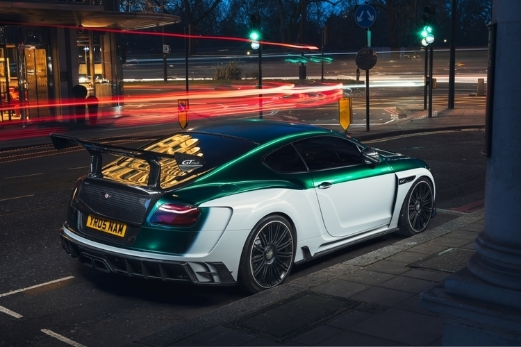 Mansory GTrace - supercars, lightpainting - jonny_pearce | ello