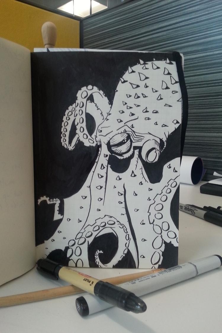 drew octopus - zigglesbarlow | ello