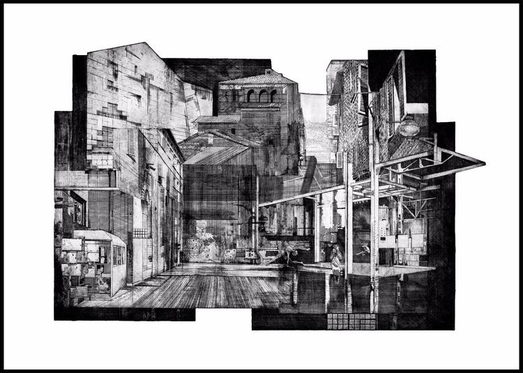 _ urbinola /city collage /inter - _axl | ello