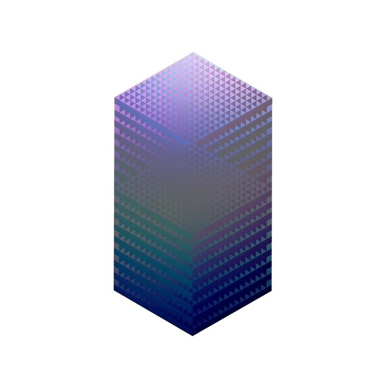 Dark subtle gradients - stereometric | ello