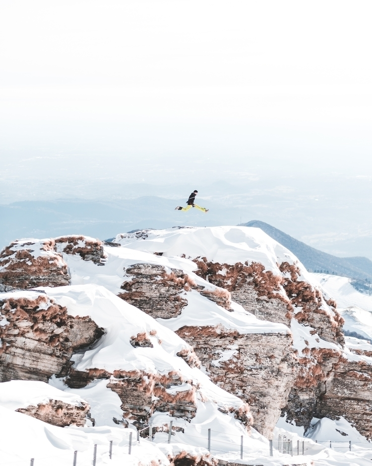 high - switzerland, jump, mountains - yannickpulver | ello