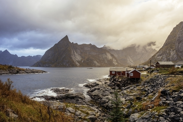 Beautiful sunset Hamnoy, Lofote - mbphotox | ello