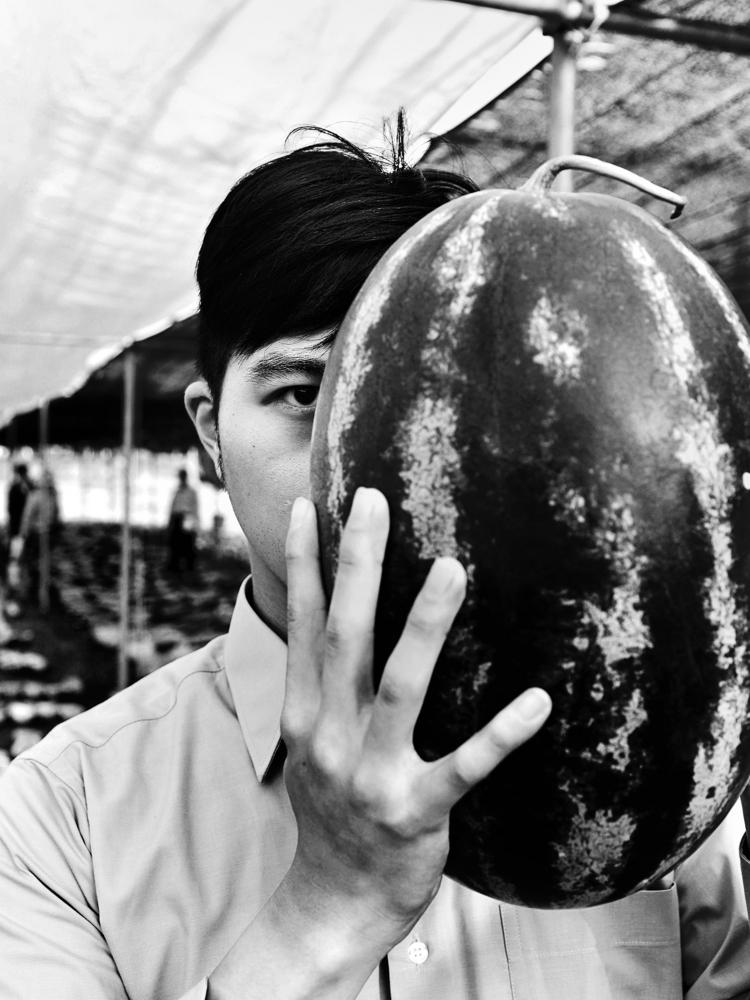 stares fruit - portrait - blacktravis | ello