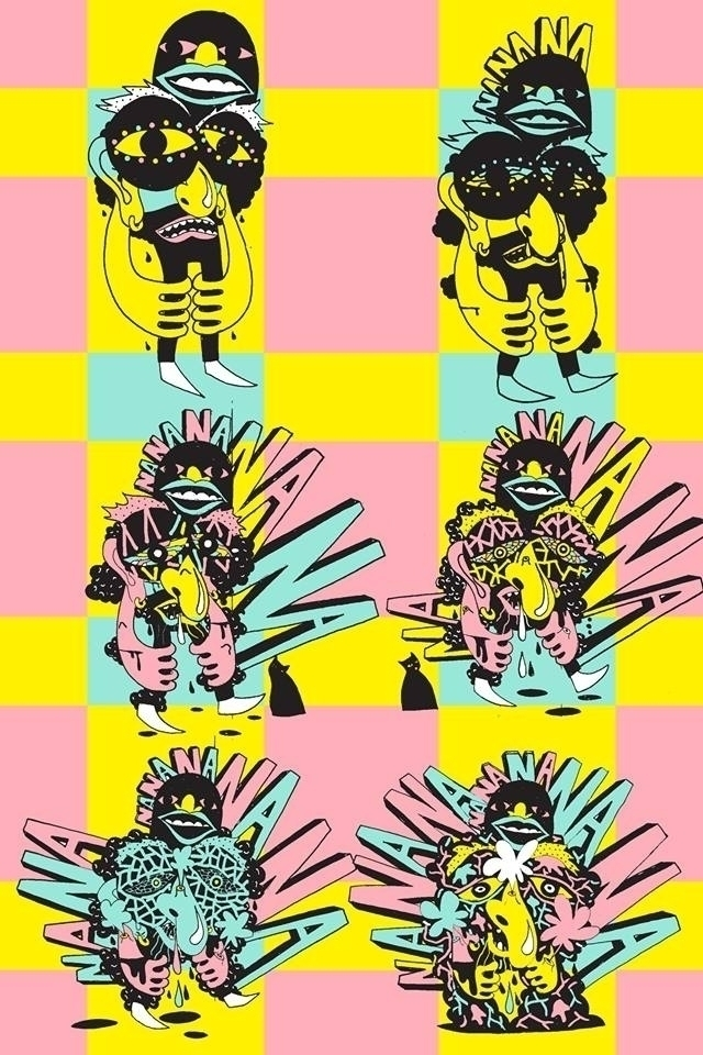 Rotting Man - vectorized illust - undianuevo | ello