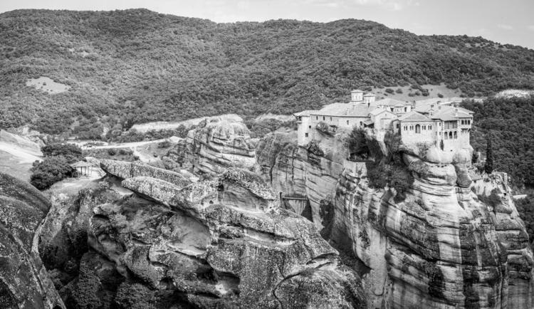 Monastery Rocks - Metewra, Greece - frozenfstop | ello