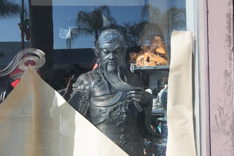 Bearded Figure, Storefront, Alh - odouglas   ello